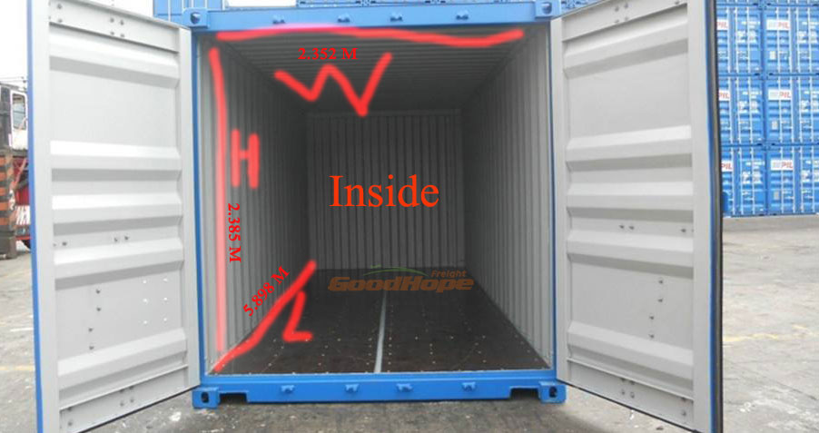 20 Ft Container Dimensions 20 Feet Container Loading
